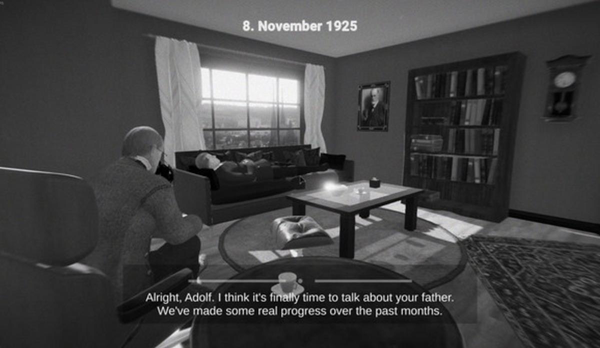 Появилась видеоигра, где спомощью психотерапии нужно «вылечить» Гитлера