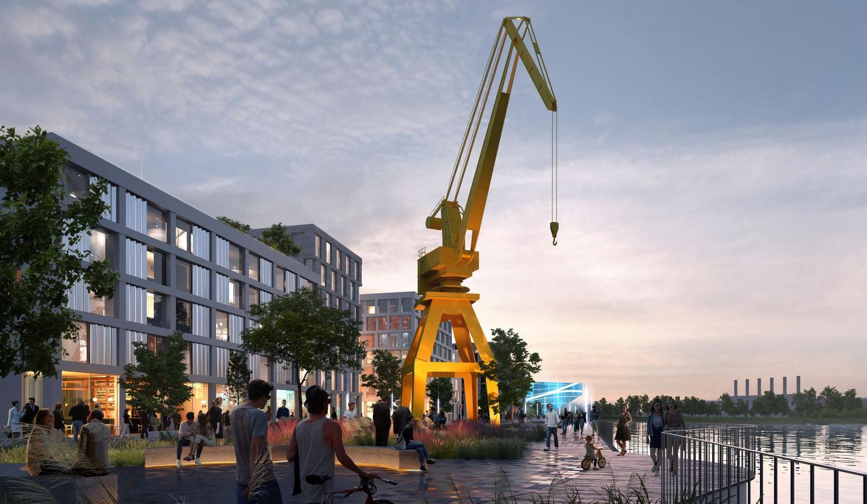 Замість промзони: наПодолі з'явиться житловий район ізвиходом доДніпра