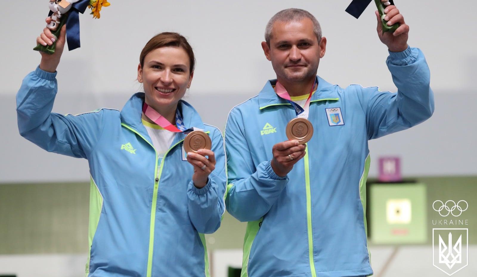 Олимпиада-2020: украинские стрелки завоевали бронзовую медаль