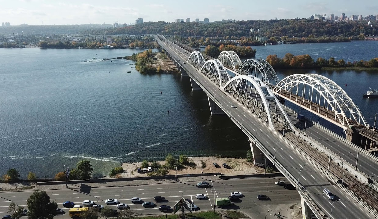 Надостройку Дарницкого моста выделили еще полмиллиарда гривен