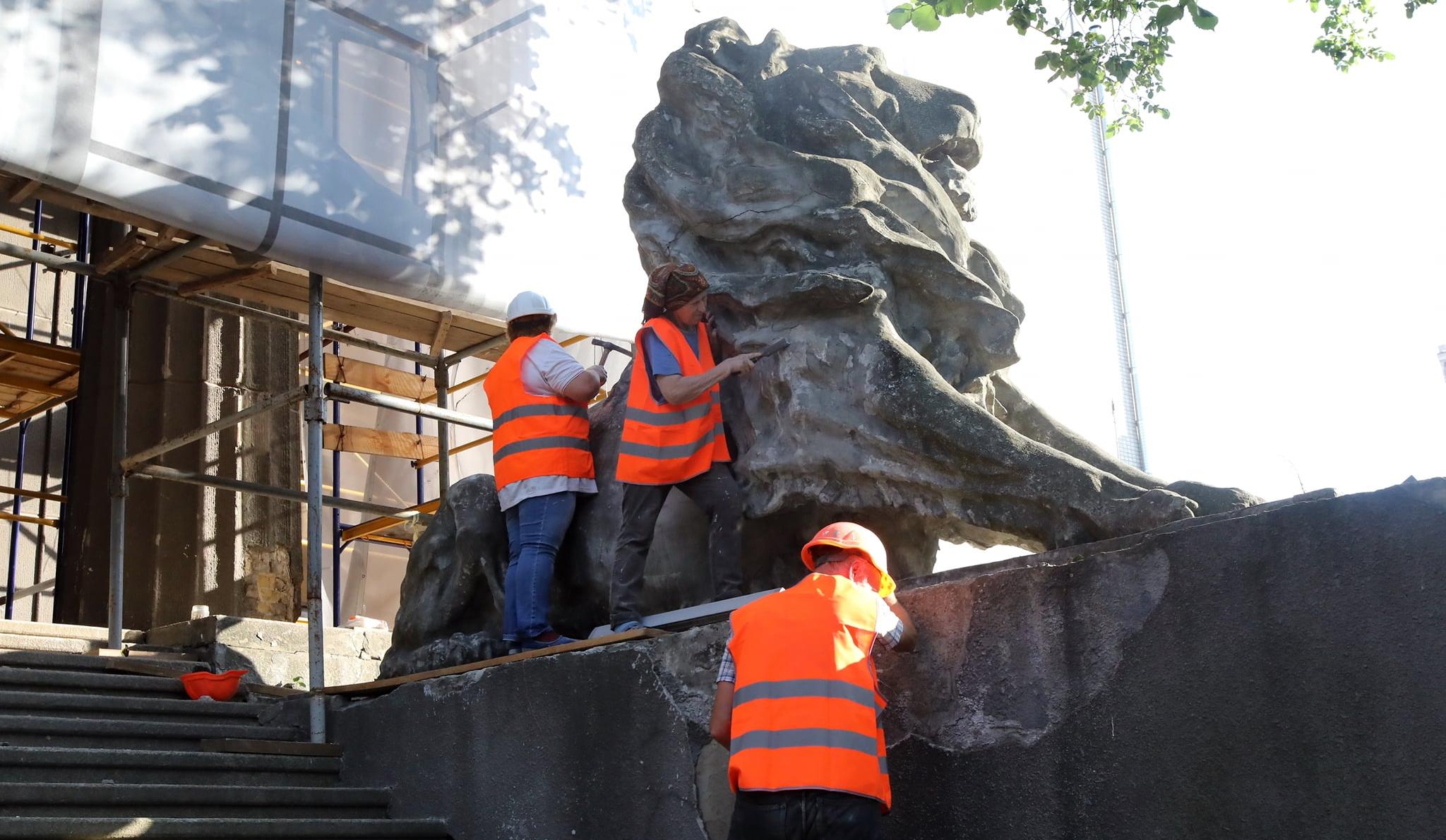 ВМинкульте показали, как реставрируют Национальный художественный музей