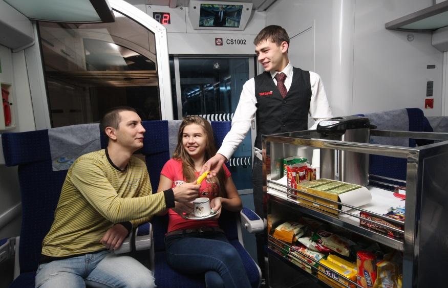 Коли сервіс харчування з'явиться увсіх поїздах «Укрзалізниці»