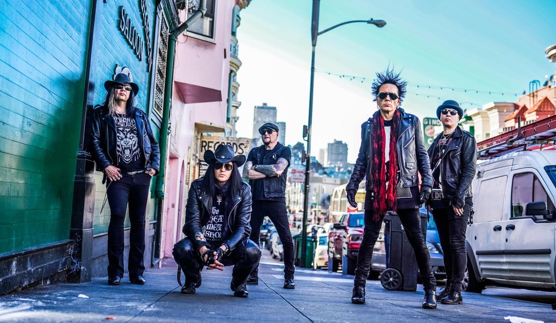 Финские рокеры The 69 Eyes представят в Киеве новый альбом