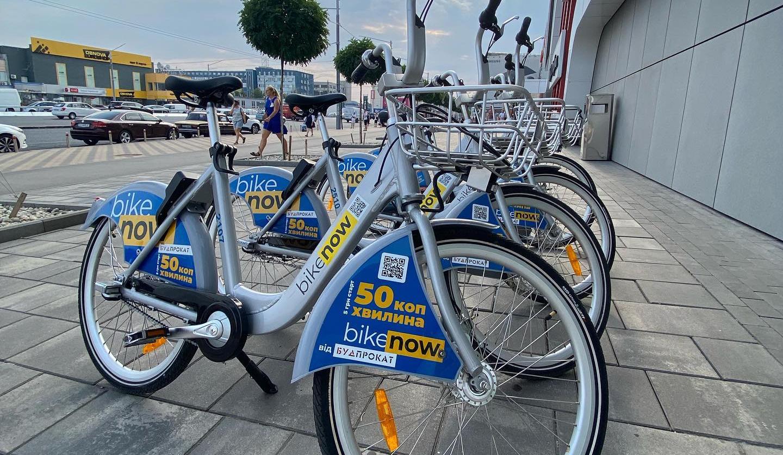 Bikenow запретил парковать велосипеды на Троещине: причина