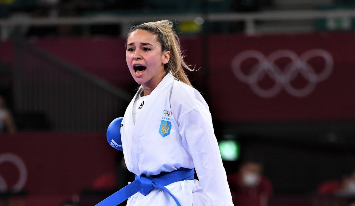 Олимпиада-2020: каратистка Анжелика Терлюга завоевала серебряную медаль