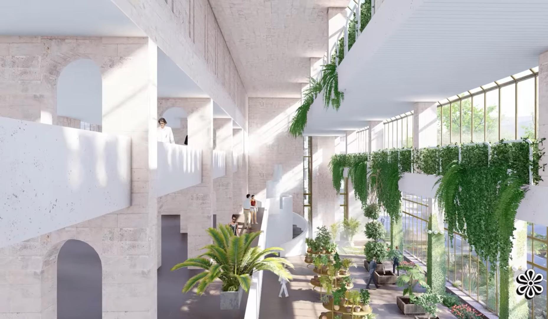 Архитекторы показали, как выглядели оригинальные интерьеры «Квітів України»