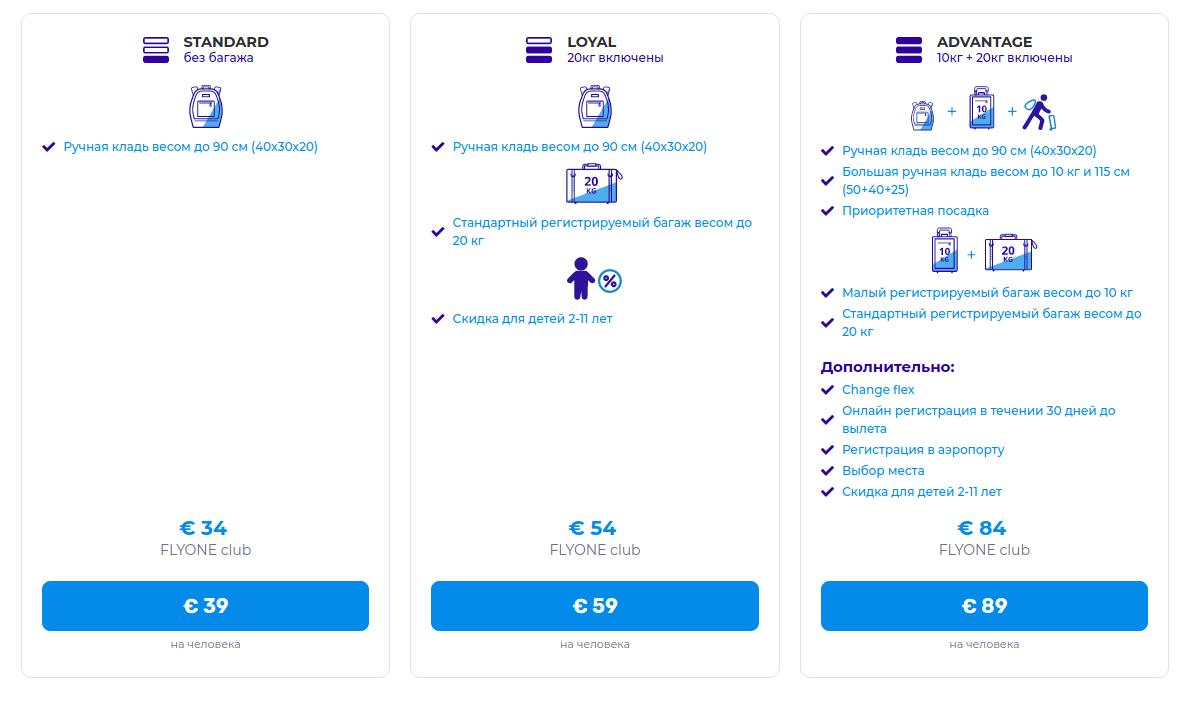 Фото: скриншот bookings.flyone.eu