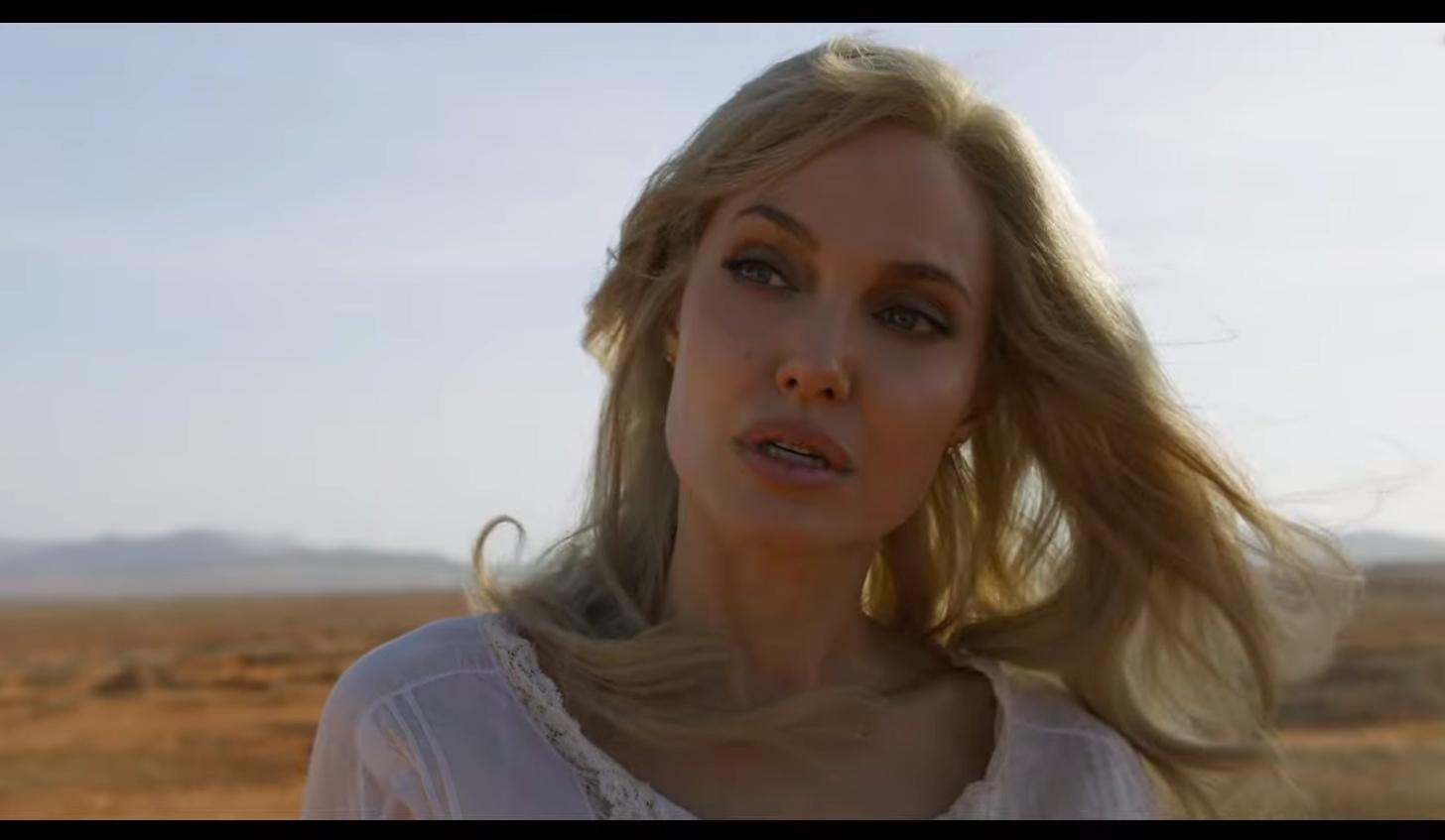 Marvel показала финальный трейлер «Вечных» сДжоли иХайек
