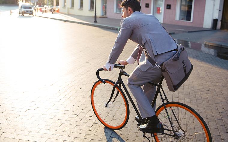 Жители столицы поедут на работу на велосипедах