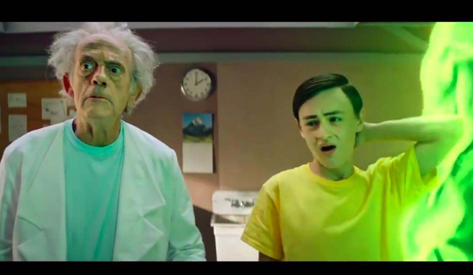 Вышел новый тизер «Рика иМорти»: в ролике сыграли настоящие актеры