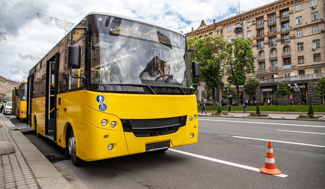 В Киеве еще на 21 автобусном маршруте будут возить пассажиров по новым стандартам