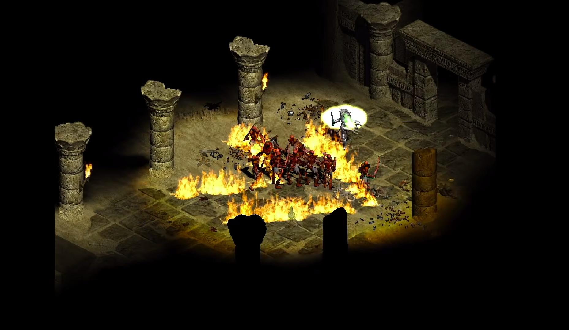 Видеоигра Diablo II: Resurrected вышла врелиз. Ноесть проблема