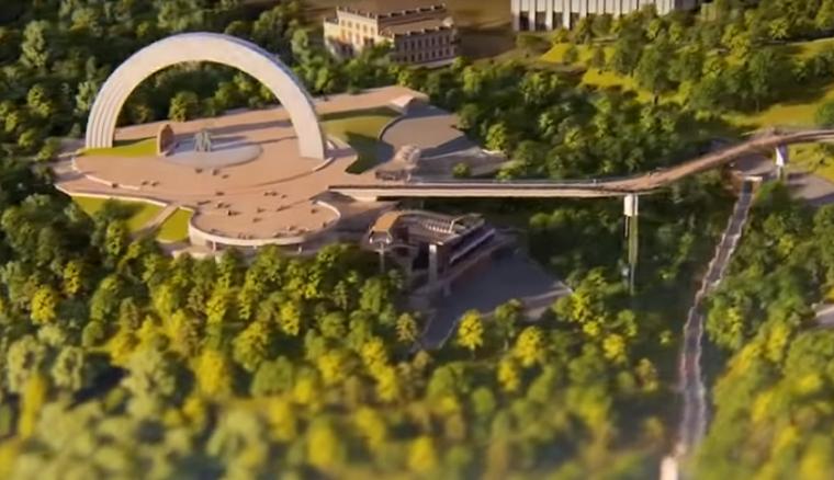 Мост из стекла: когда в Киеве появится новый туристический маршрут (видео)