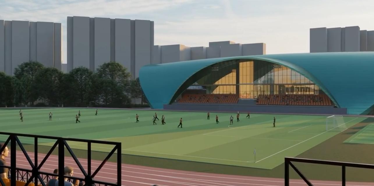 Стало известно, как будет выглядеть киевский стадион «Старт» после реконструкции