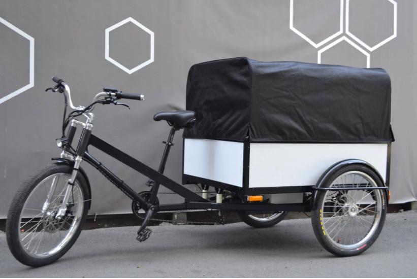 Украинский стартап создал трехколесный электровелосипед Delfast Trike с пожизненной гарантией