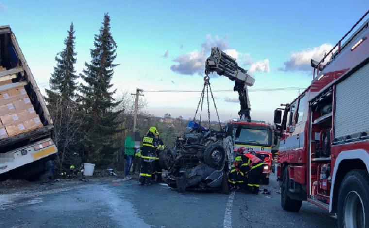 Четверо украинцев погибли в ДТП в Чехии (фото, видео)