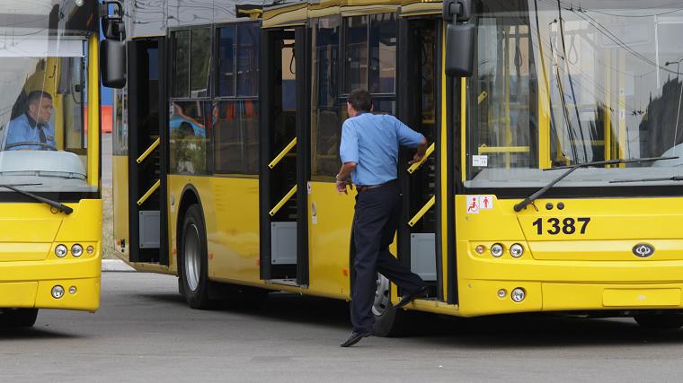 У Києві створюють «чорний список» водіїв-порушників громадського транспорту