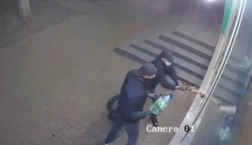 Пожары в магазинах Киева: собственник сети опубликовал видео поджога (видео)