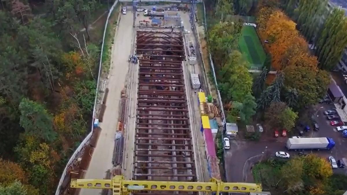 Метро наВиноградарь: как прокладывают туннель станции «Мостицкая»