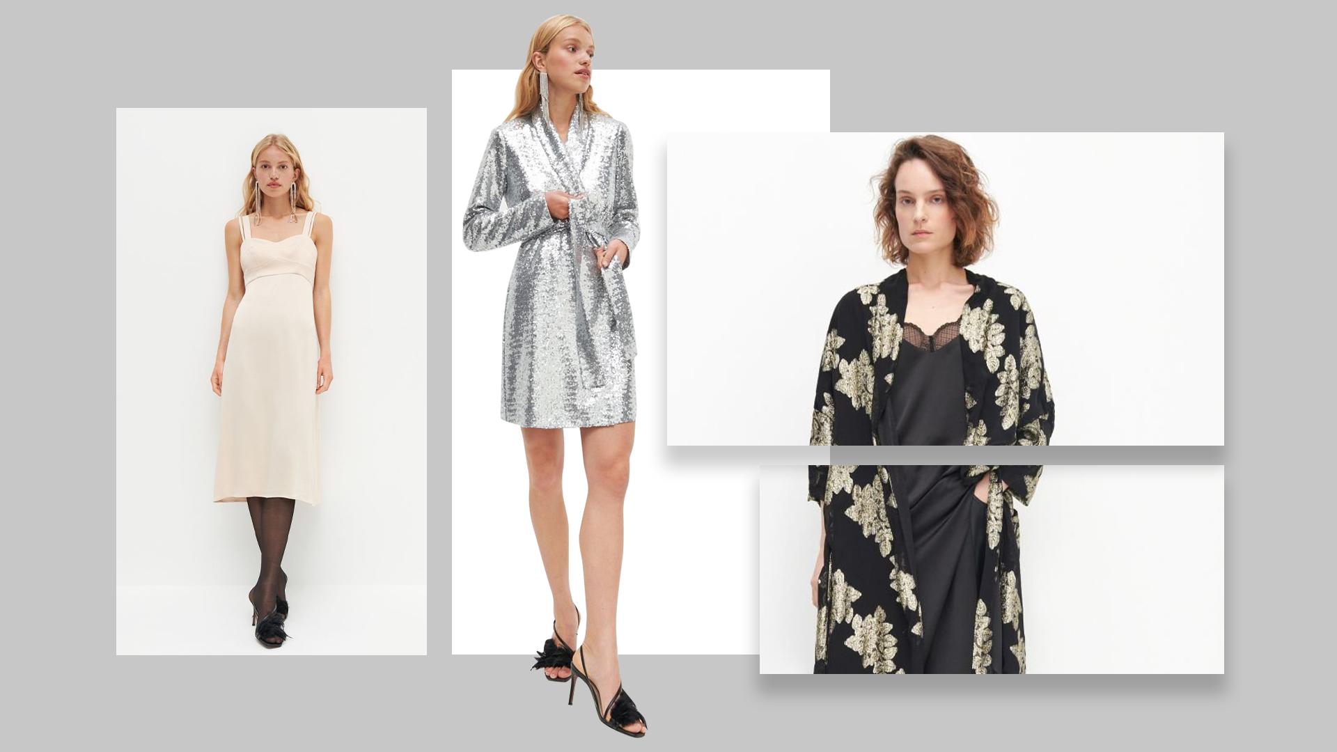 Эстетика 70-х, платья из переработанного пластика и пайетки: это 5 вариантов для образа в новогоднюю ночь