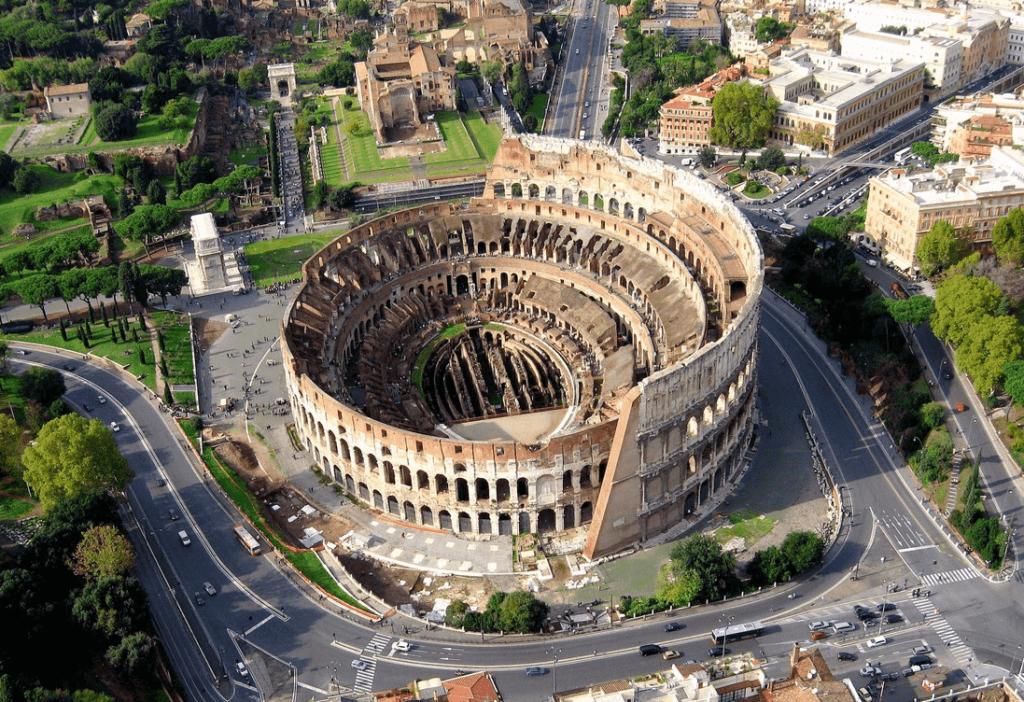 В римском Колизее запустили украиноязычный аудиогид