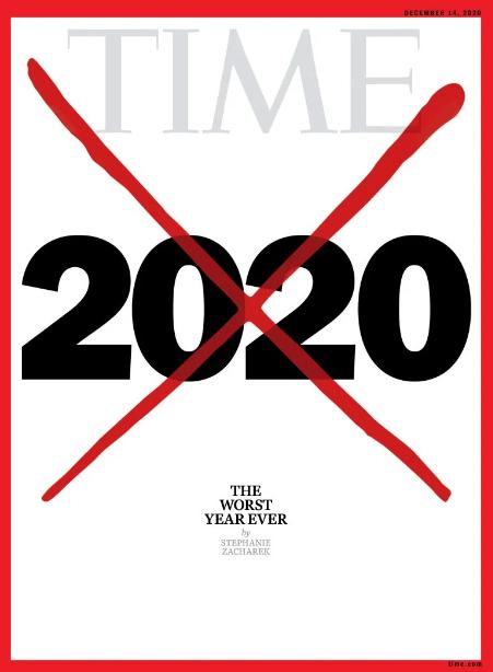 «Худший в истории»: журнал Time посвятил обложку 2020 году